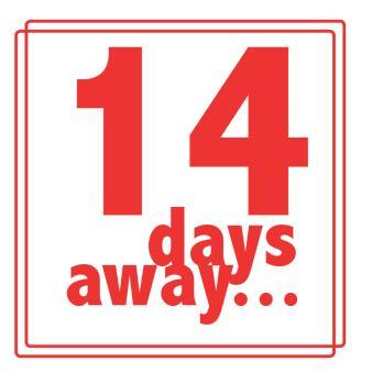 14 days away